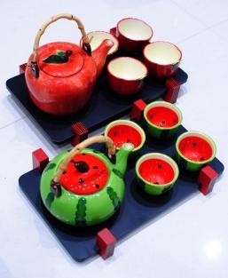 Designer tea sets