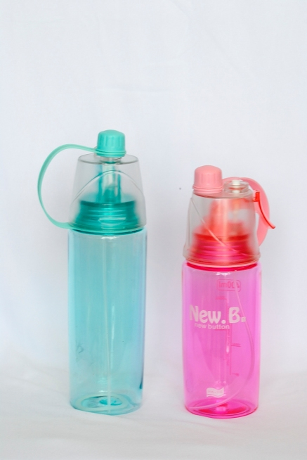 Plastic water bottle with Sipper