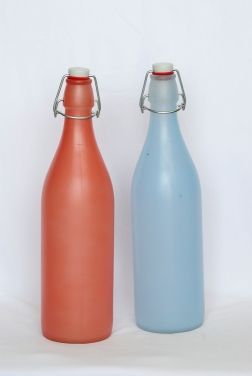 Matt finish tranclucent water bottles - Bormioli Rocco