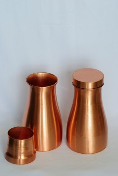 Copper container with Lid
