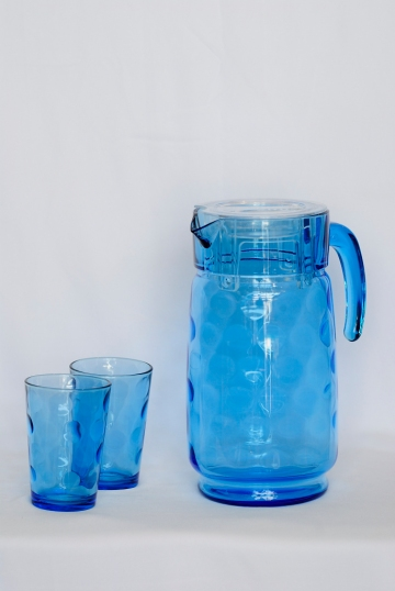 Lumiarc Water Jug with 6 Glass set